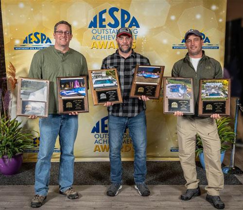 Aquavision pools NESPA winners 2019